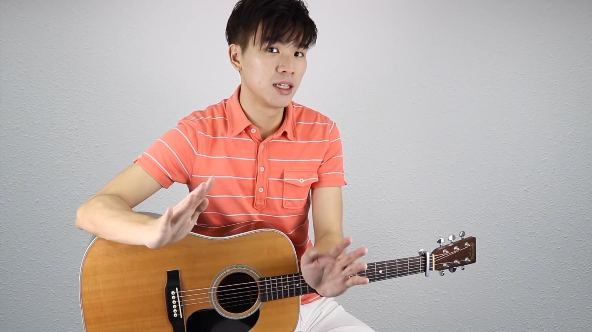 陶喆《普通朋友》吉他弹唱教学 - 黄建德