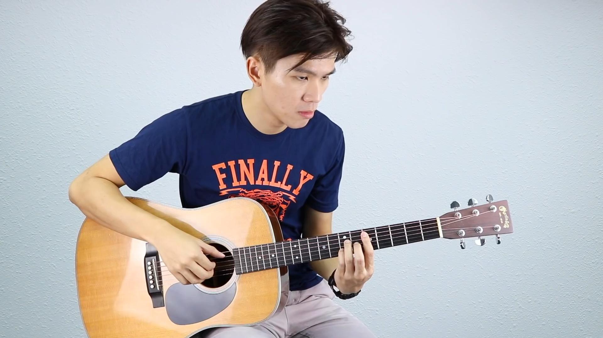 五月天《拥抱》吉他教学 - 黄建德